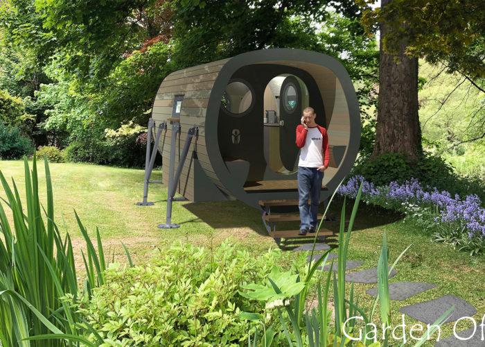 Anthropod GO! Garden Office  Coming To Your Garden Soon